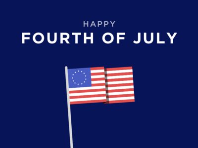 Happy Fourth Of July! holiday sketch illustration independence day united states america independence fourth july