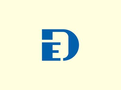 Dentures Expert dental logo branding monogram logo monogram branding design vector logomark logodesign design logo