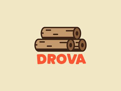 DROVA branding sticker illustration branding design vector logodesign design logo