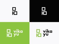"""""""Vika Yu"""" Logo"""