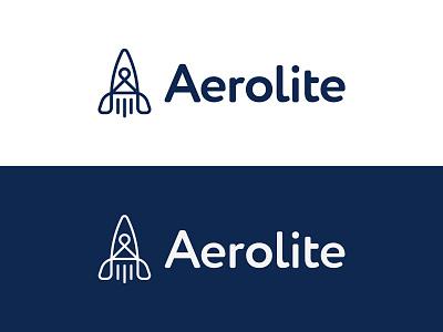 Aerolite logochallenge logotype dailylogochallenge rocket logo rocket branding design branding vector logomark design logodesign logo