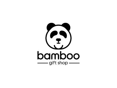 Bamboo logotype dailylogochallenge panda logo panda illustration branding logochallenge branding design vector logomark design logodesign logo