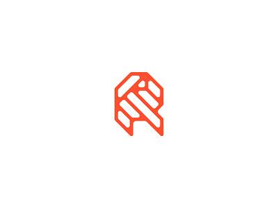 Letter R lettermark logodesign logomark logo design typedesign typography art typography letter r letter type 36daysoftype-r 36daysoftype06 36daysoftype