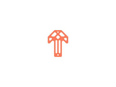 Letter T t lettermark logodesign logo logomark design typedesign typography art typography letter t letter type 36daysoftype-t 36daysoftype06 36daysoftype