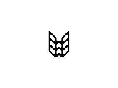 Letter W w lettermark logodesign logomark logo design typedesign typography art typography letter w letter type 36daysoftype-w 36daysoftype06 36daysoftype