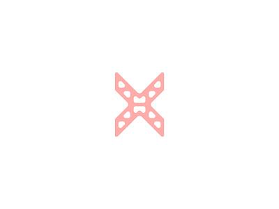 Letter X x lettermark logodesign logomark logo design typedesign typography art typography letter x letter type 36daysoftype-x 36daysoftype06 36daysoftype