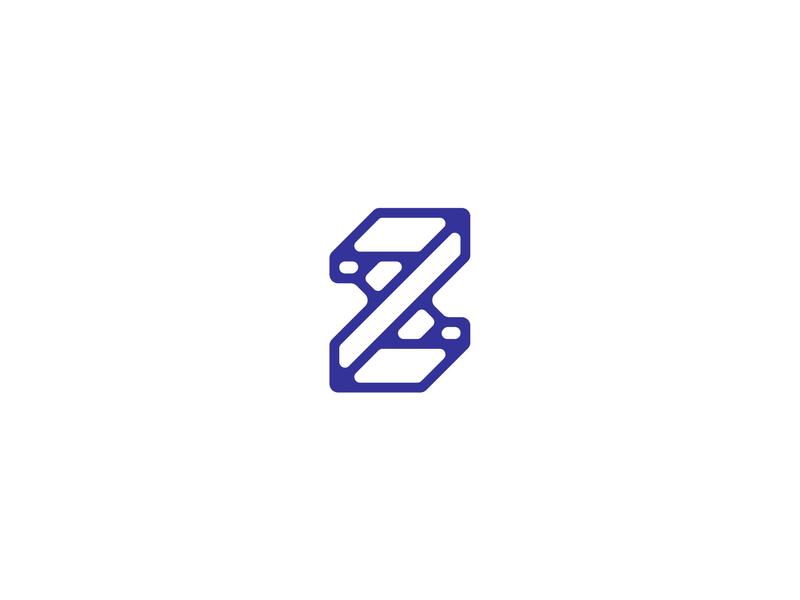 Letter Z z lettermark logodesign logomark logo design typedesign typography art typography letter z letter type 36daysoftype-z 36daysoftype06 36daysoftype