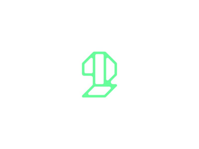 Number 2 2 lettermark logodesign logomark logo design typedesign typography art typography number 2 numbers number letter type 36daysoftype-2 36daysoftype06 36daysoftype