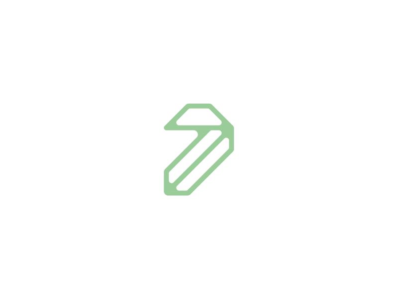 Number 7 numbers number 7 number 7 lettermark logodesign logomark logo design typedesign typography art typography letter type 36daysoftype-7 36daysoftype06 36daysoftype