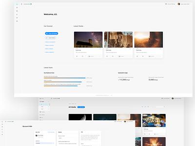 Media Platform 2020 Shots admin grid dashboard ui design ui media