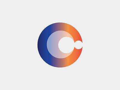 Crunch Logo Concept gradient logo crunch