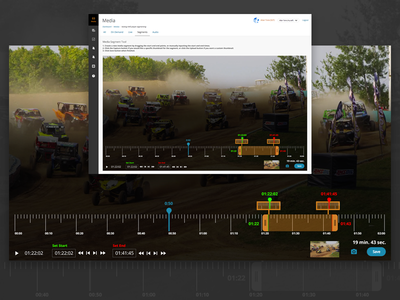 Video Segmenting/Clipping Tool UI controls clip tool segment ui video