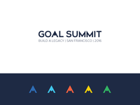 Goal Summit 2016 Logo and Identity