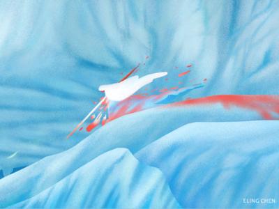 [meeting the spirit monster] -illustration design