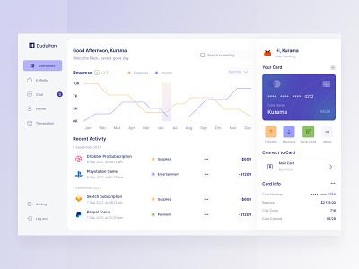 Digital Banking Dashboard digital banking dashboard popular figma finance dashboard banking dashboard digital banking website dashboard illustration app minimal design ux ui
