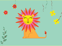 Lion- Happy Kingdom! Save All!