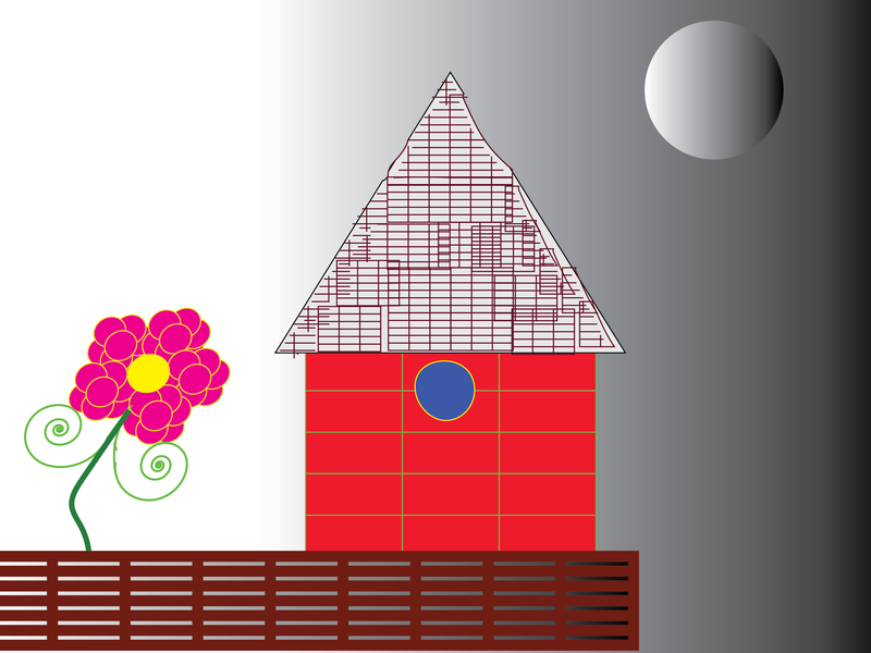 House vector illustration adobe