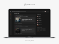 Pluralsight Discovery Feed
