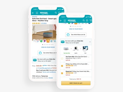 Amazon Devices - Extend What You Own amazon ux ui