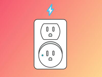 Halp! Smart Plug flat placeholder illustration amazon