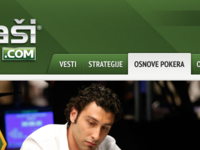 Redesign of pokerasi.com