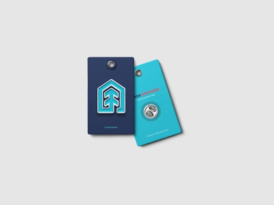 Casa Alameda : Pin logotype stationery tónico tonico monterrey logo brand design identity branding