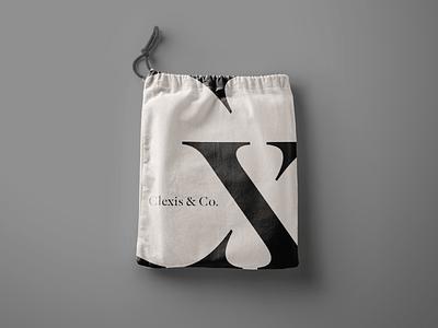Clexis / brand touchpoint empower women company black logotype logo mx cx brand desig