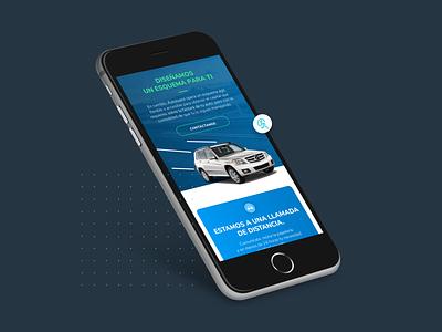 Autoloans – Website mockup digital user interface user experience branding mobile ui ux design wesbite