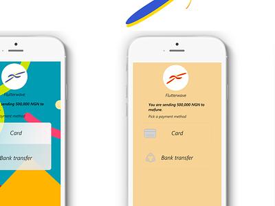 flutterwave branding icon animation minimal website logo ui ux design app