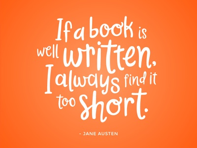Austen font jane austen quote austen handwriting hand-drawn hand-lettering