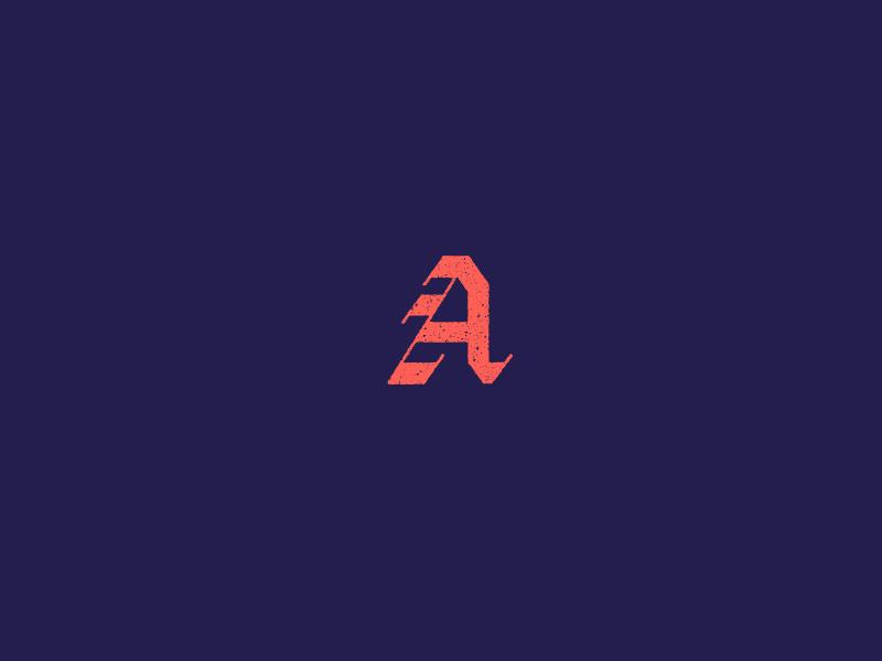 Blackletter 'A' 36daysoftype letter lettering custom blackletter texture type vector