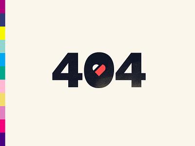 404s & Heartsores heart image link broken 404 error heartbreak pun illustration vector