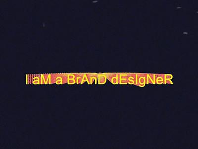BrAnD😬dEsIgN gradient layout typography retro vector type texture