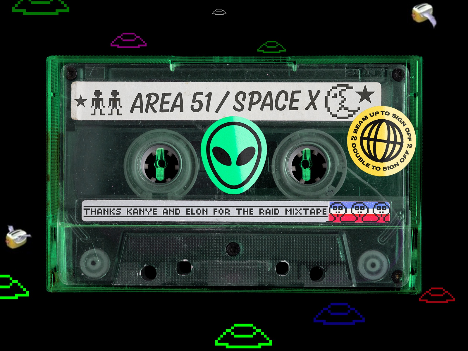 Area 51 Mixtape 🤔👽