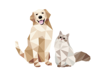Low poly-pets