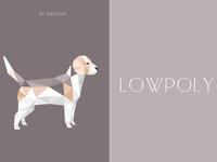 Lowpoly-pet three