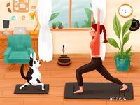 Illustration for Yoga