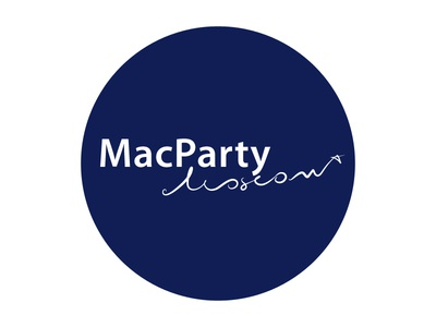 MacPartyMoscow new logo WIP; v.2