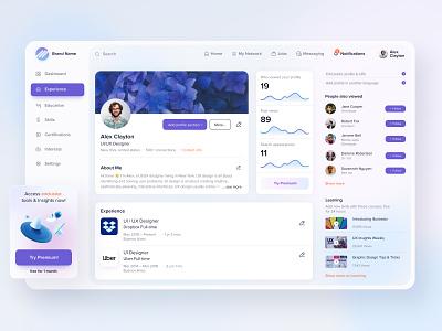 Social network Dashboard UX-UI Design social network social dashboard ui dashboard mobile app webdesign web concept figma creative ux ui design