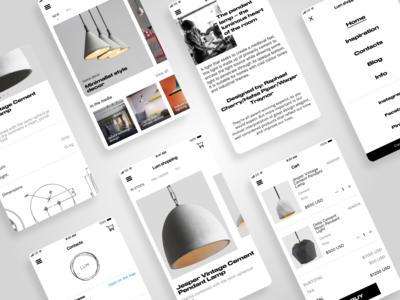 Mobile app for Pendant lights store