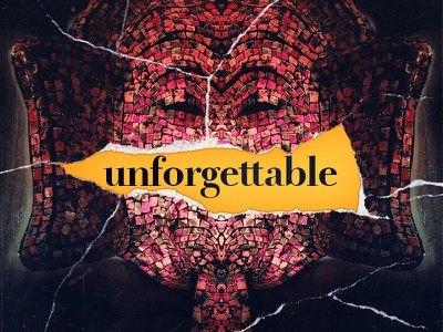 So, unforgettable. illustration collage design elephant