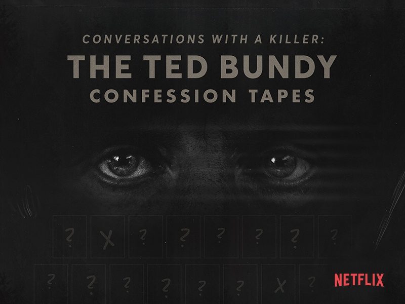 Ted Bundy Netflix Poster poster collection poster challenge poster art poster netflix bundy illustration graphic design design branding direction art