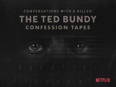 Ted Bundy Netflix Poster poster collection poster challenge poster art poster netflix bundy illustration graphic design design branding direction art