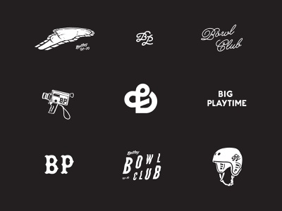 Team Playtime bowl bmx illustration logo