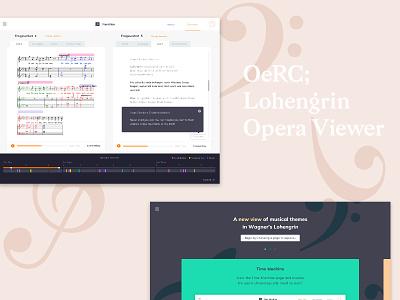 Unlocking Musicology opera webapp webdesign