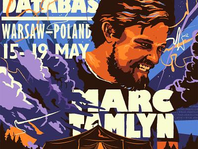 Djangcon Poster djangocon event poster illustration