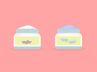 Hand creams (coconut and lavender)