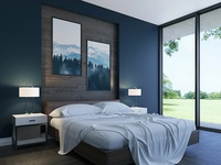 3D Architectural Visualization - Bedroom