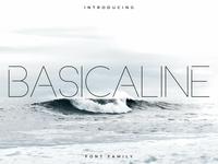 Basicaline Font Family – Sans Serif