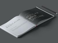 Basicaline Font Family – Sans Serif – Weight